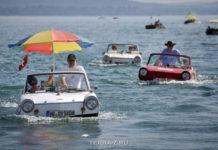 26-я встреча любителей автомобилей-амфибий (Швейцария)
