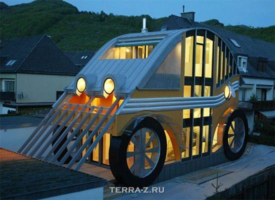 "Коттедж-автомобиль ""Voglereiter Auto Residence"" (Австрия)"