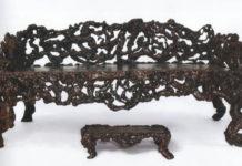 Необычная мебель из корней и коряг, 18-20 век