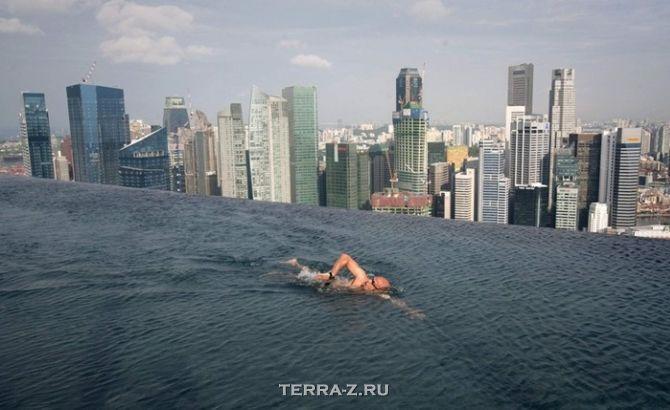 """Отель """"Marina Bay Sands"""" (Сингапур)"""