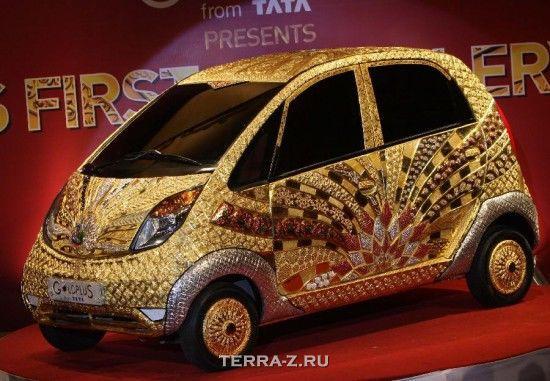Tata Nano - Самый дорогой экземпляр самого дешевого автомобиля (Индия)