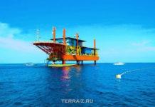 """""""Seaventures Dive Resort"""" - отель на нефтяной платформе (Малайзия)"""