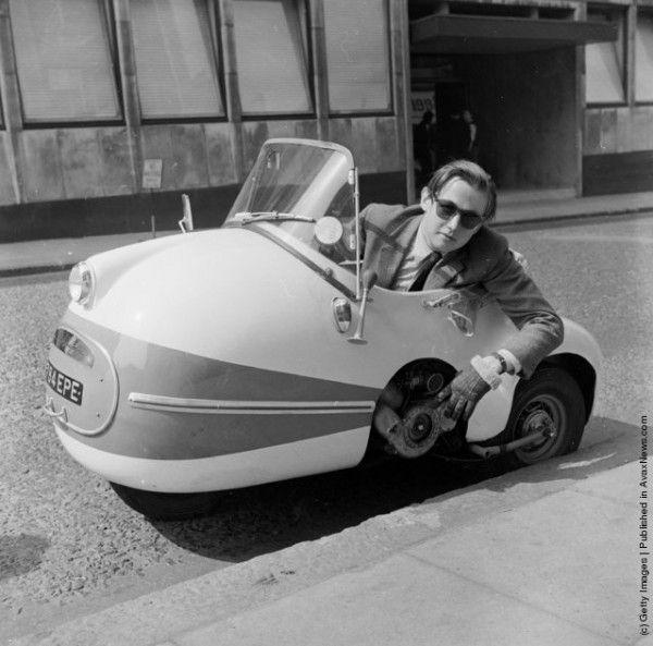 Необычные малолитражные ретро-автомобили