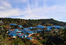Хускар: первая в мире деревня Смурфов (Испания)