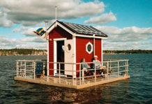 Необычные отели: подводно-надводный Utter Inn (Швеция)