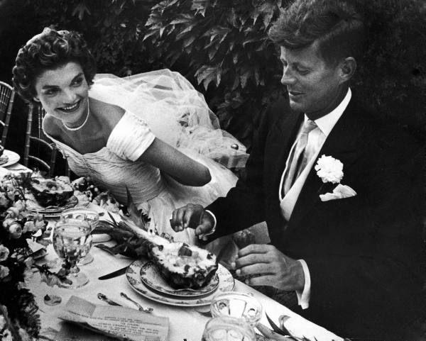 Скромная свадьба Джона Кеннеди и Жаклин Бувье