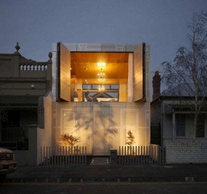 Современная архитектура: дом-терраса Kavellaris (Автстралия)