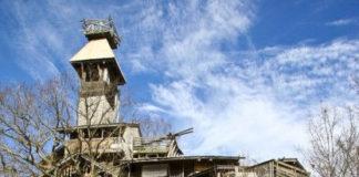 Самый высокий деревянный дом в мире (США)