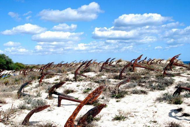 Кладбище якорей (Португалия)