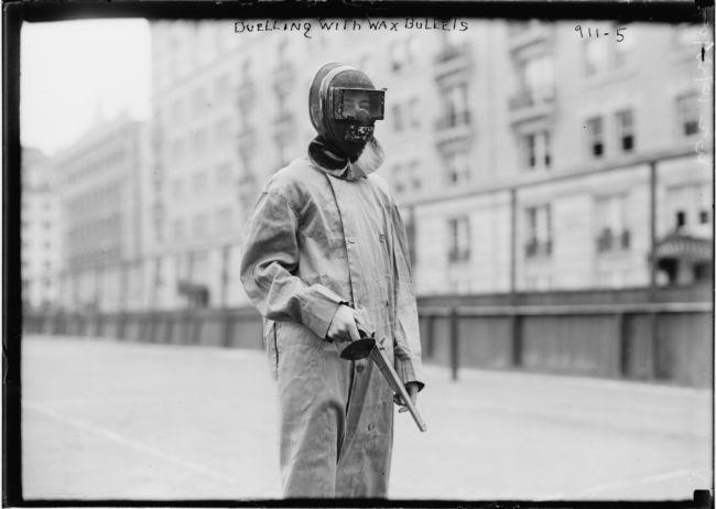 Пейнтбол в 1909 году