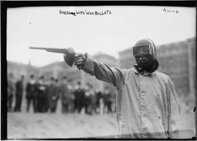 Пейнтбол в 1909 году (США)