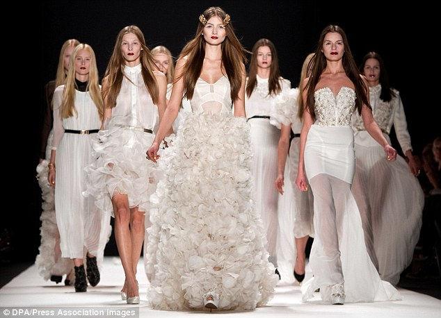 Свадебное платье будущего от Александры Фишер-Рехлер