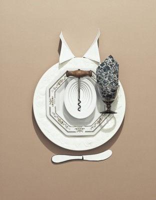 Фотопроект Dinner Etiquette, дизайнер Соня Рентч (Sonia Rentsch) и фотограф Скотт Ньюэтт (Scott Newett)