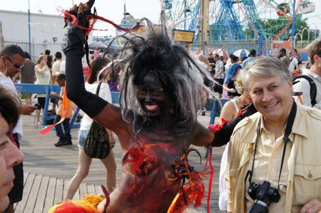 Парад Русалок на Кони-Айленд (США)