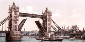 Строительство Тауэрского моста (1892 г.)