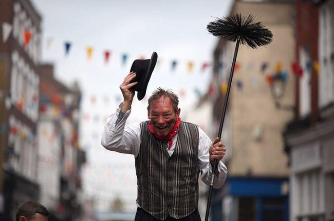 Фестиваль трубочистов в Рочестере (Англия)
