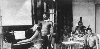 Племя Зулусов в начале ХХ века