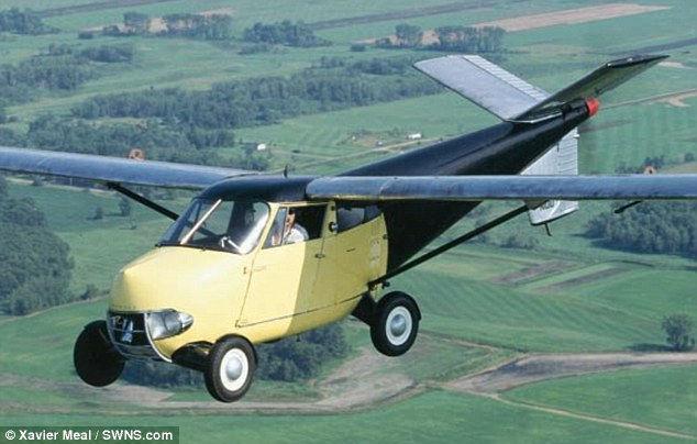Аэрокар: первый в мире серийный летающий автомобиль (1946 г.)