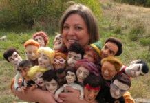 Шерстяные куклы от Кей Петал (Kay Petal)