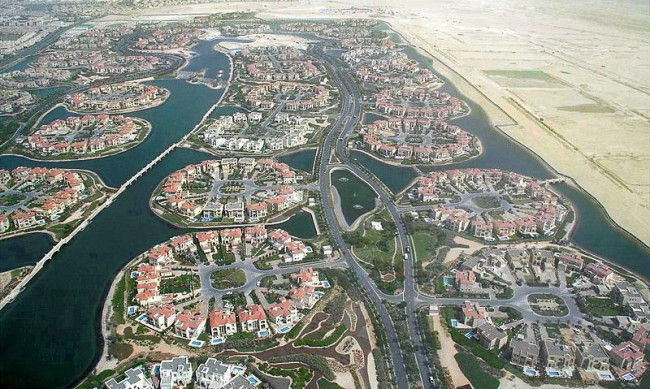 Рукотворные острова Джамейрах (Jumeirah Islands)