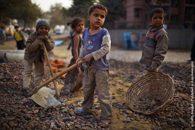 Детский труд в мире