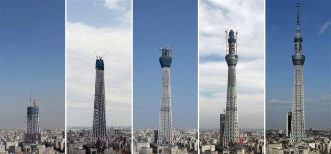 Небесное дерево Токио: самая высокая телебашня в мире (Япония)