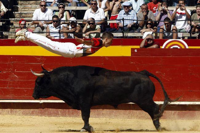 Рекортес: опасные игры с быками (Испания)