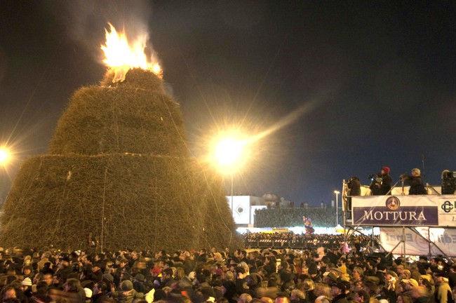 Фокара: торжество огня (Италия)