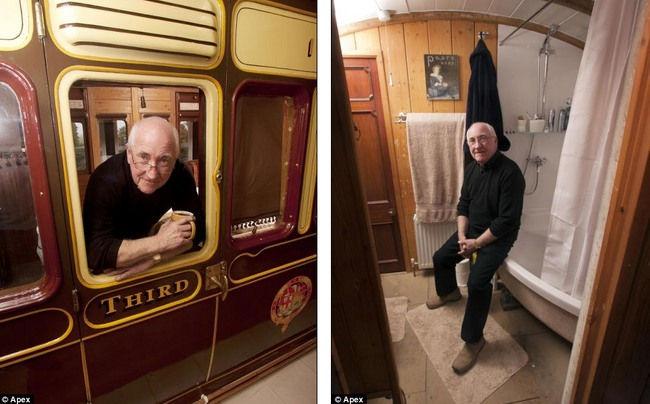 Необычные дома: уютный вагон Great Western (Англия)