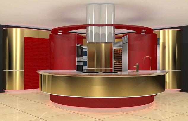 Самая дорогая кухня стоимостью в полмиллиона долларов (Англия)