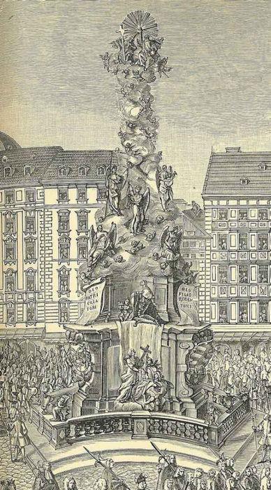 Колонна чумы в Вене (Австрия)