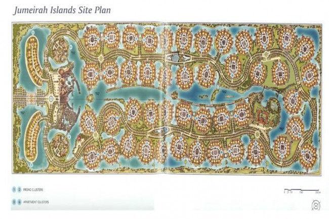 Рукотворные острова Джамейрах (Jumeirah Islands)