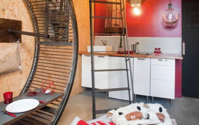 """Необычные отели: La Villa Hamster, только для """"хомяков"""" (Франция)"""