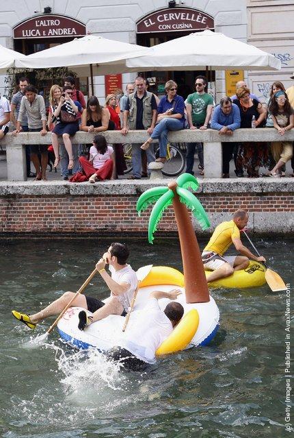 Водный фестиваль Stranavigli (Италия)