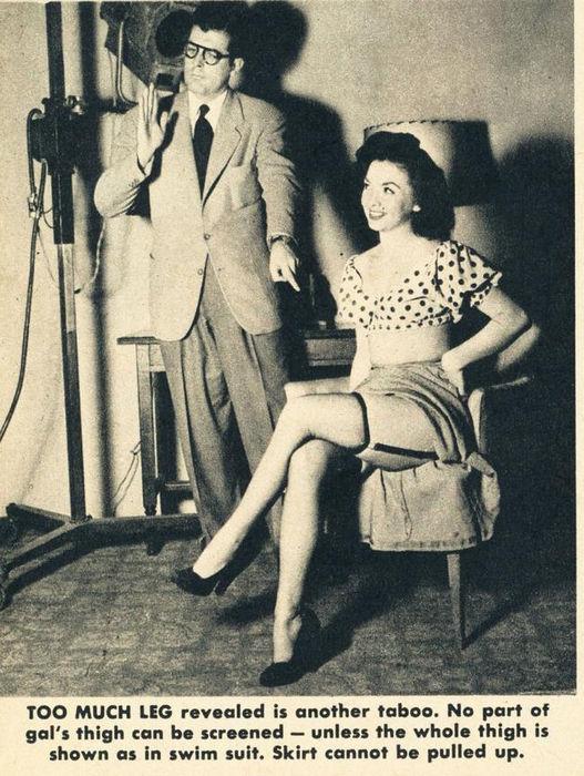 табу на телевидении 1949 год