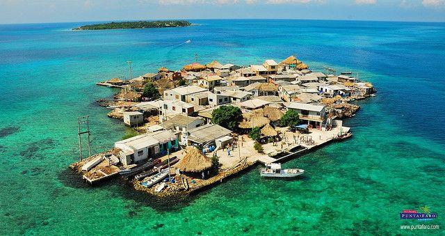 Santa Cruz del Islote: самый густонаселенный остров (Колумбия)