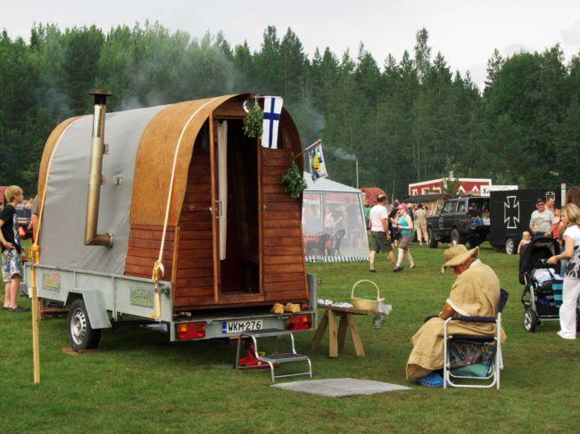 Фестиваль необычных мобильных саун (Финляндия)