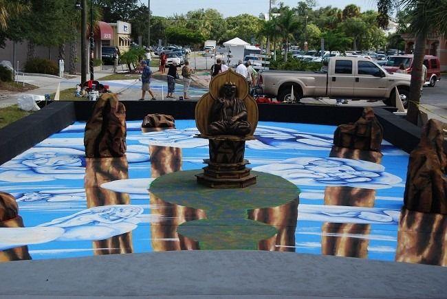 Трехмерная реальность на Меловом фестивале в Саракоте (США)