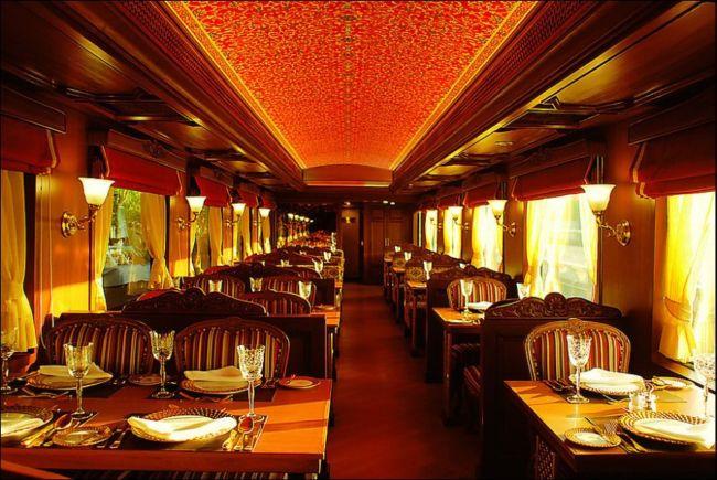 """""""Экспресс Махараджей"""" - самый дорогой поезд (Индия)"""