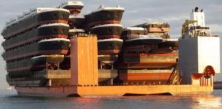 Blue Marlin: самый крупный корабль для перевозки кораблей