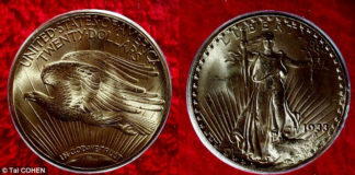 Double Eagle: самая дорогая монета, проданная через аукцион