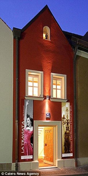 Eh'haeusl: самый маленький отель в мире (Германия)