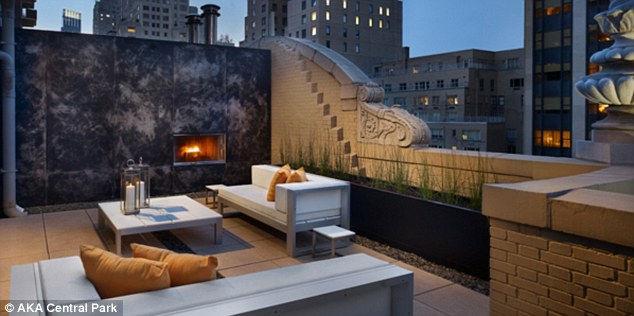 AKA Central Park: отель с видом на звездное небо (США)