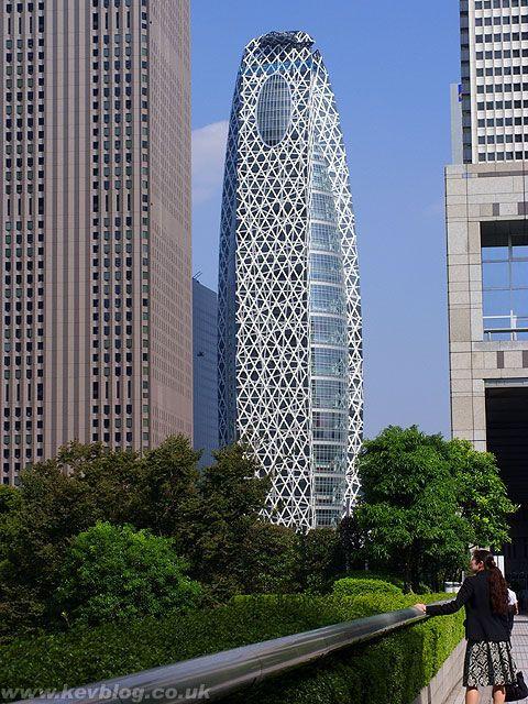 Cocoon Tower: самый красивый небоскреб 2008 года (Япония)