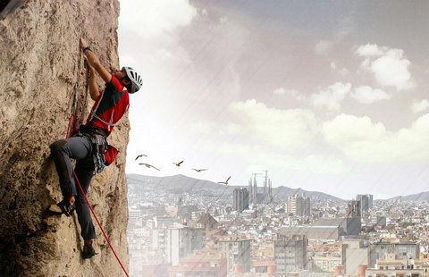 Barcelona Rock: 100-метровый отель-скала (Испания)