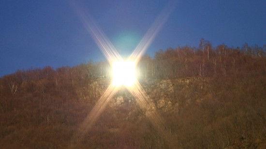 Виганелла - деревня, в которой светит искусственное солнце (Италия)