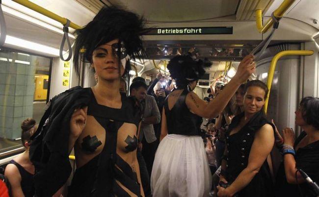 Underground Catwalk: подземный показ мод (Франция)