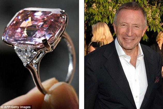 Самый дорогой бриллиант, проданный через аукцион (Англия)