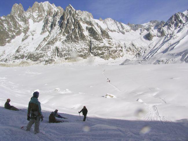 Белая Долина: самая длинная горнолыжная трасса (Франция)