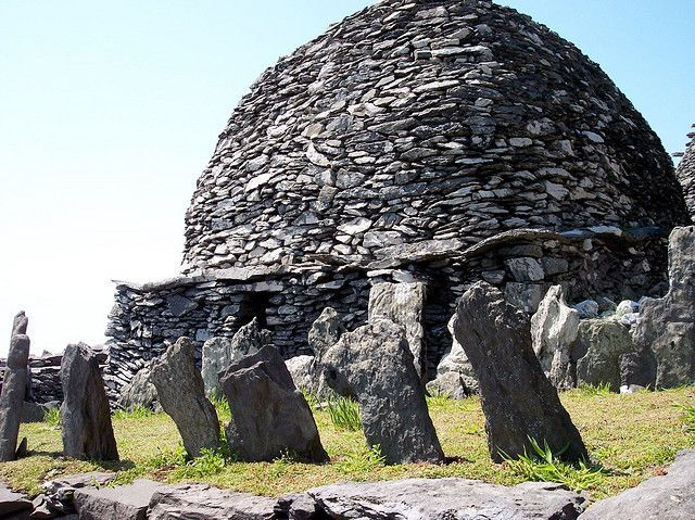 Скеллиг-Майкл: неприступный монастырь посреди океана (Ирландия)